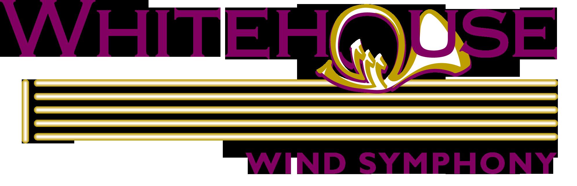 Whitehouse Wind Symphony Logo